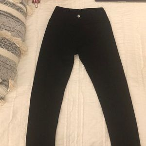 Lululemon leggings size 2 black